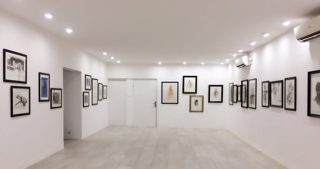 The Manuscript exhibition view at Omenka Gallery. Courtesy Jade Art