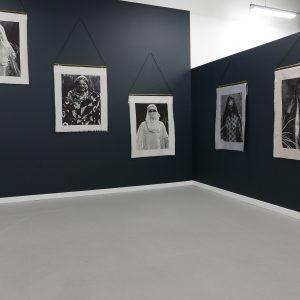 Self Portraits: Bridal, Tye Dyed, Laced, Undercover, Sheltered, Mariane Gallery, Image Courtesy Mariane Ibrahim Gallery