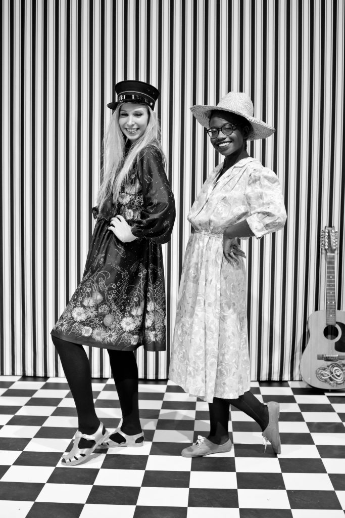 "©Fatoumata Diabaté – ""Le Studio Photo de la Rue"", Exposition Malick Sidibé. Mali Twist, Soirée nomade, Fondation Cartier, Paris, France."