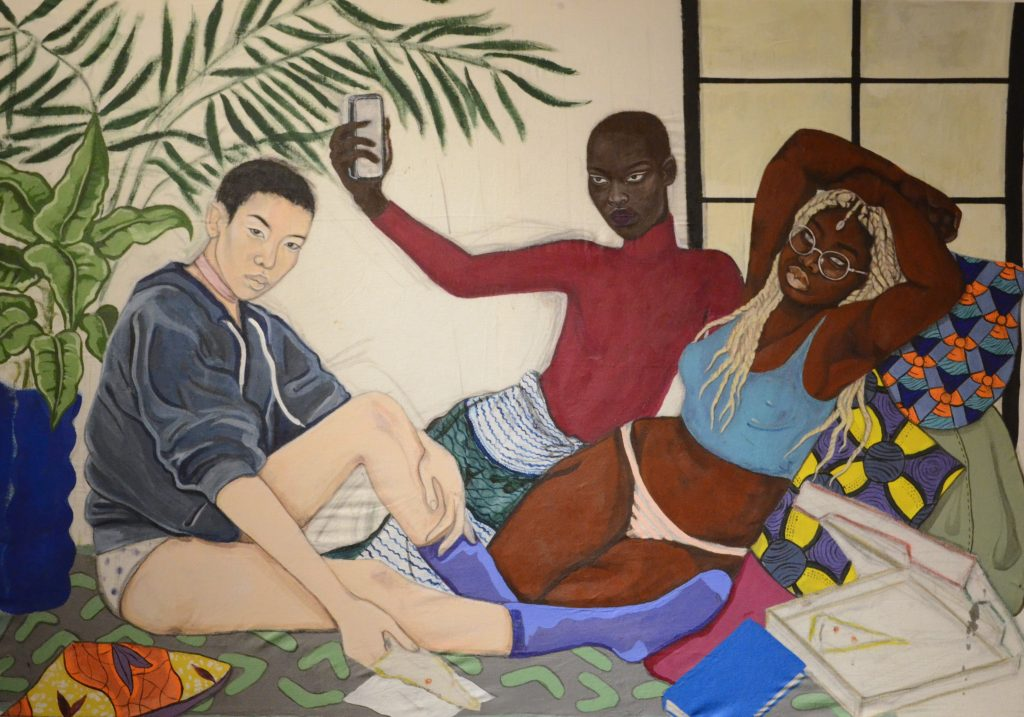 © Benjamin Biayenda, Anachronie | theMatter, Immeuble Grey, Dakar, 2018. Courtesy Khadidiatou Cissé
