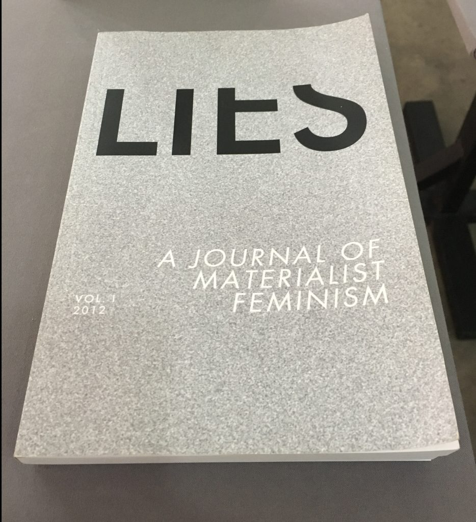 "Lies Journal, ""Publishing Against the Grain,"" Centre for Contemporary Art, Lagos, 2018."