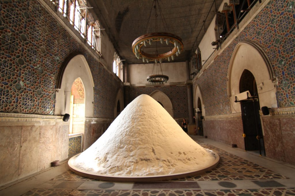 Patricia Kaersenhout, The Soul of Salt, Site Installation, 2016.