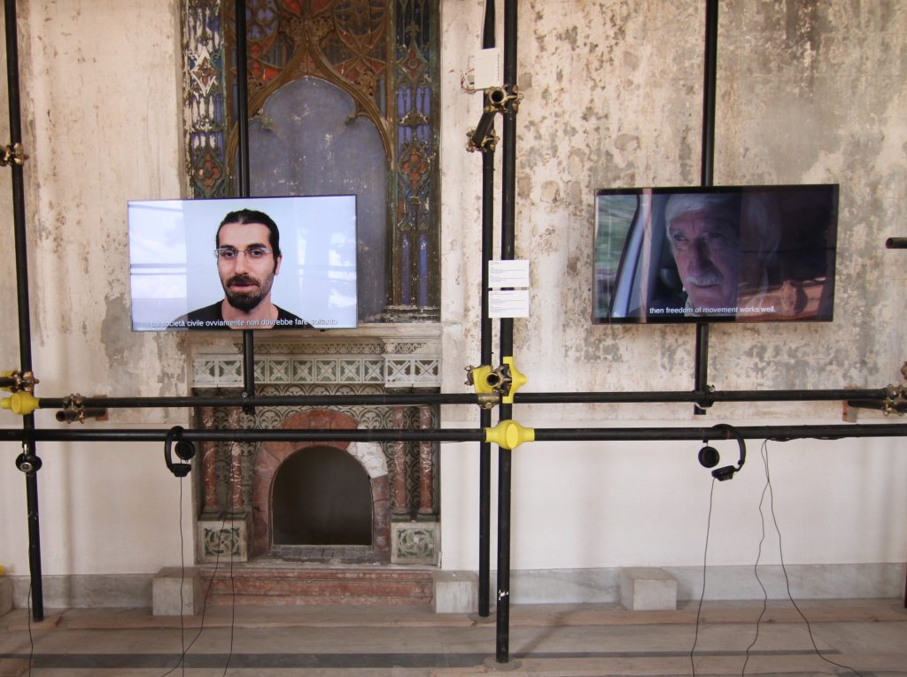 Peng! Collective, Fluchthelfer.in – Become an Escape Aid Agent!, Video Installation, 2015.