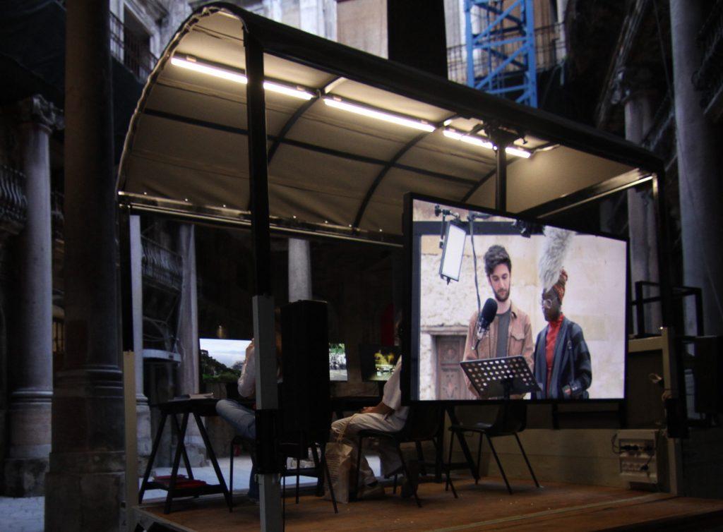 Masbedo, Videomobile, Video installation, 2018.