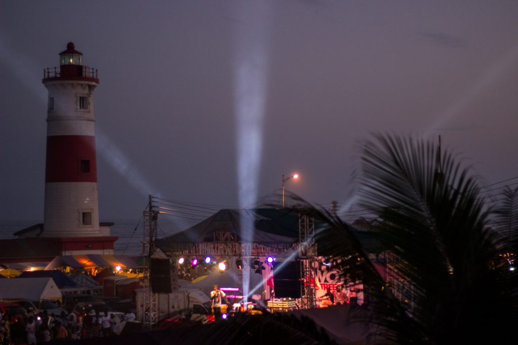 The Lighthouse, Jamestown, Accra (2018) | Photo Courtesy of IfeOluwa Nihinlola