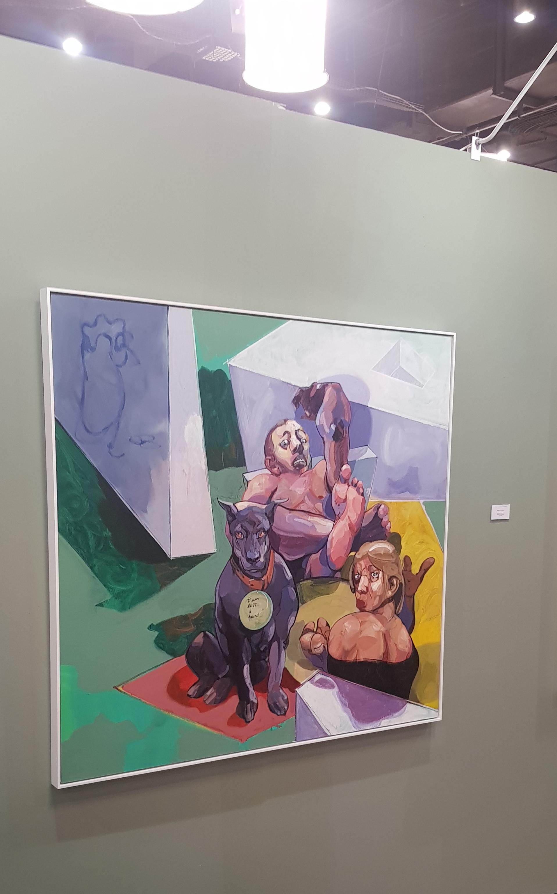Indefinite Feature 3 by Nigatu Tsehay, Christopher Moller Gallery, FNB Joburg Art Fair 2018 | Photo credit: Ayodeji Rotinwa