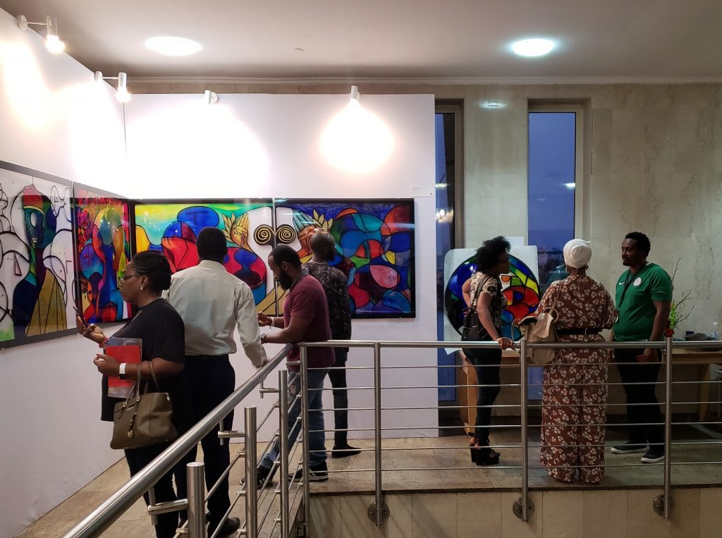 Live Art, ART X Lagos 2018 | Photo copyright - IfeOluwa Nihinlola