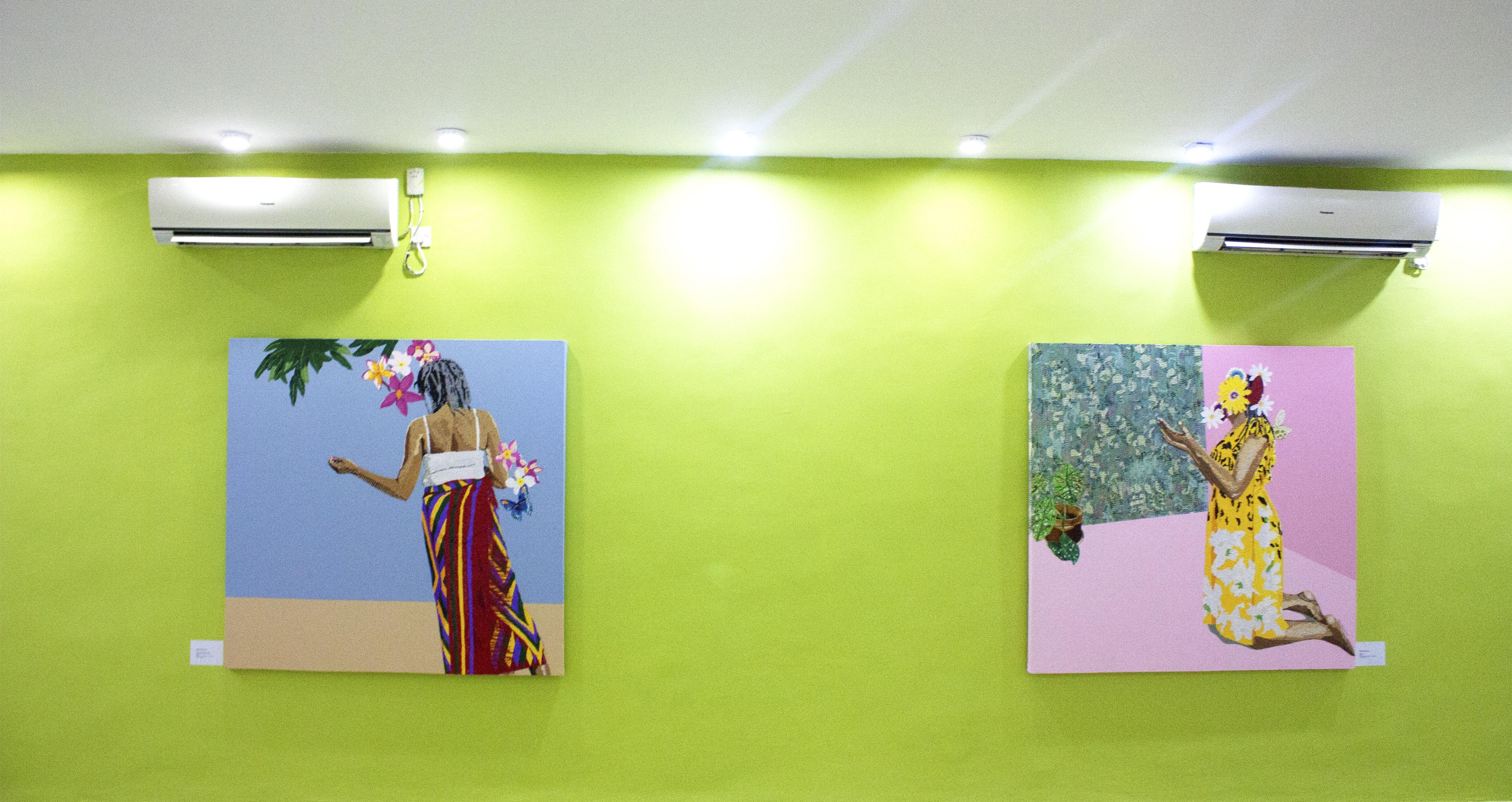 Ngozi Schommers, Ìgwè bụ ényí, 2018. Courtesy of Omenka Gallery.