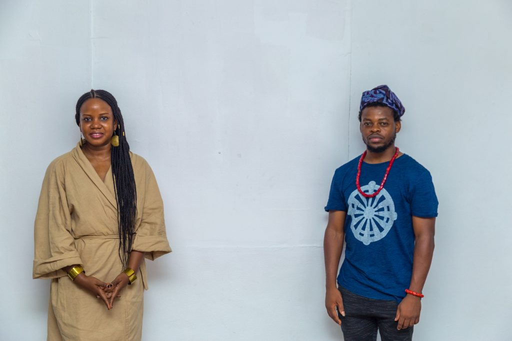 Jumoke Sanwo (left) and Qudus Onikeku (right)   Photo credit: Benson Ibeabuchi for The Sole Adventurer