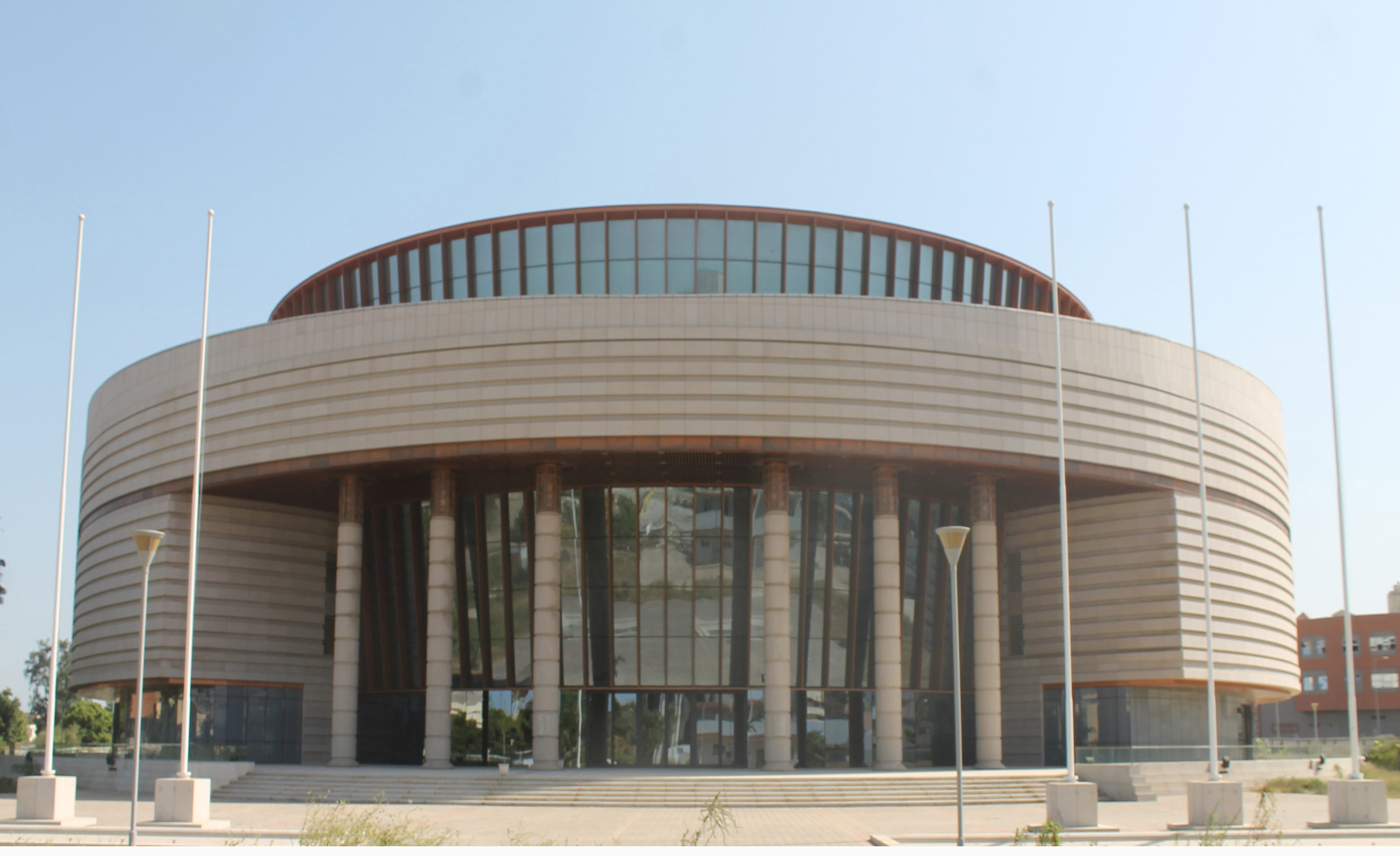 Exterior, Museum of Black Civilisations, Dakar. (Photo courtesy of the Museum of Black Civilisations)
