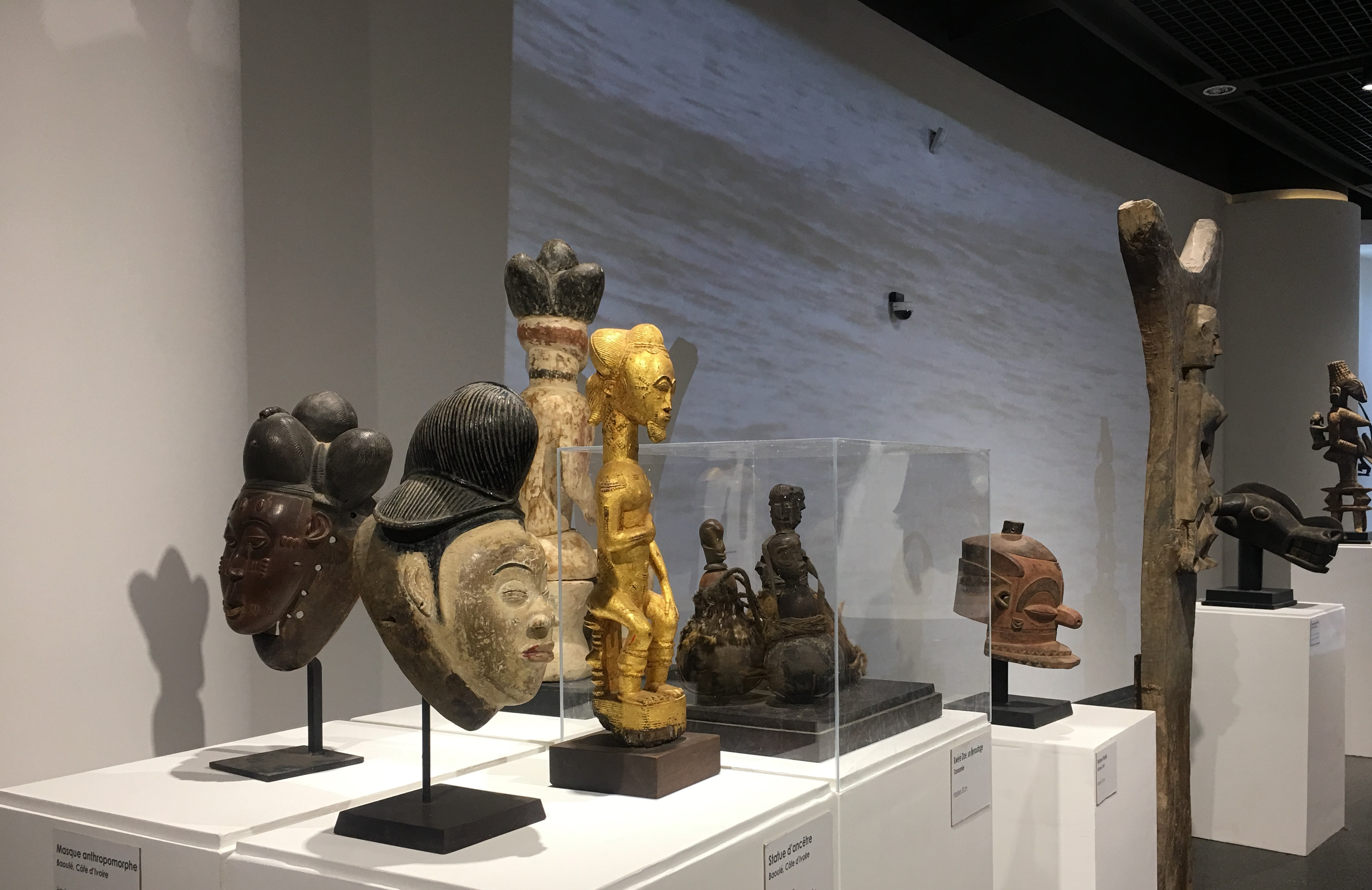 Exhibition at the Museum of Black Civilisations. (Photo courtesy of the author, Mamadou Diallo)