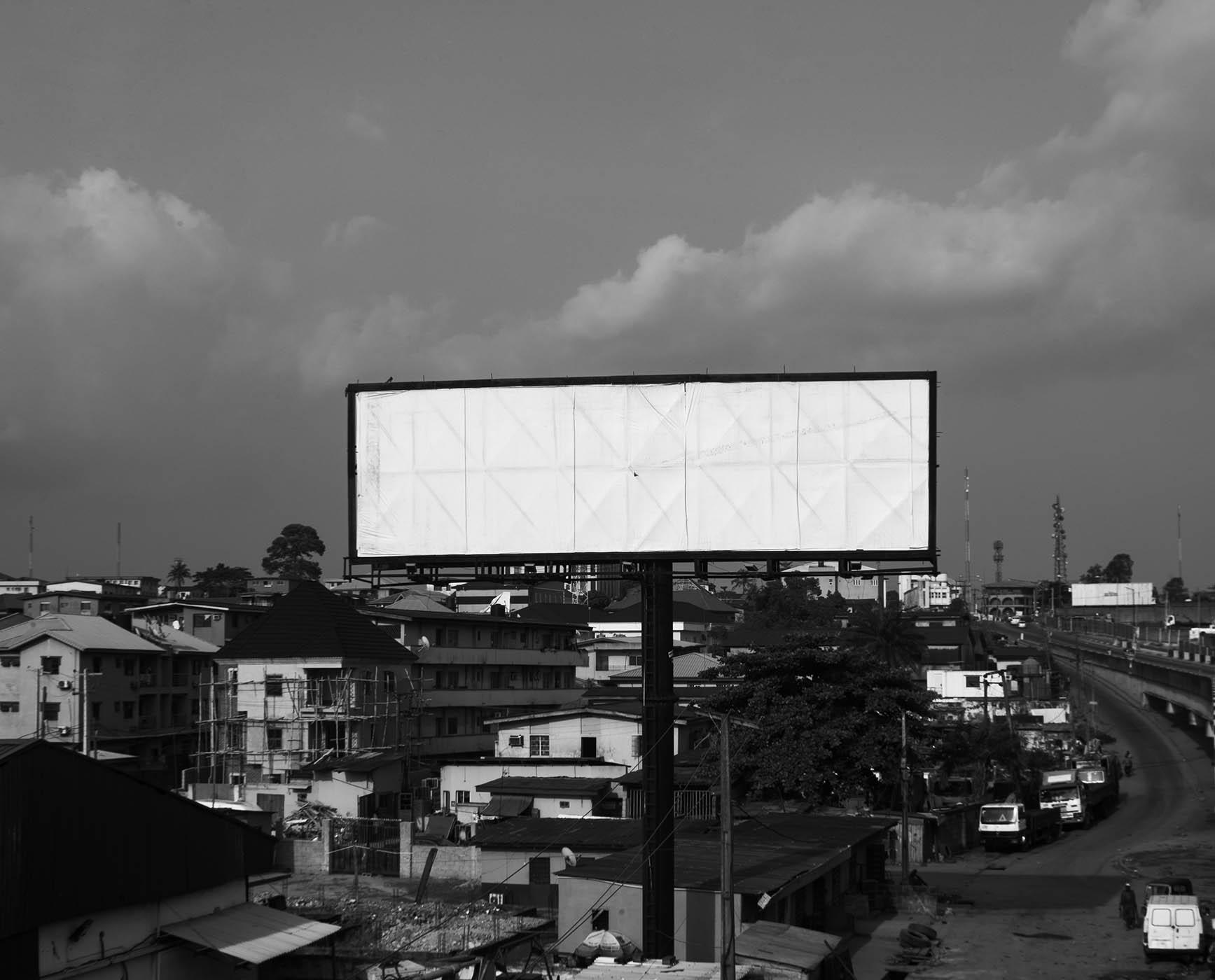Kadara Enyeasi, 'Billboard I', 2018. Courtesy African Artists' Foundation