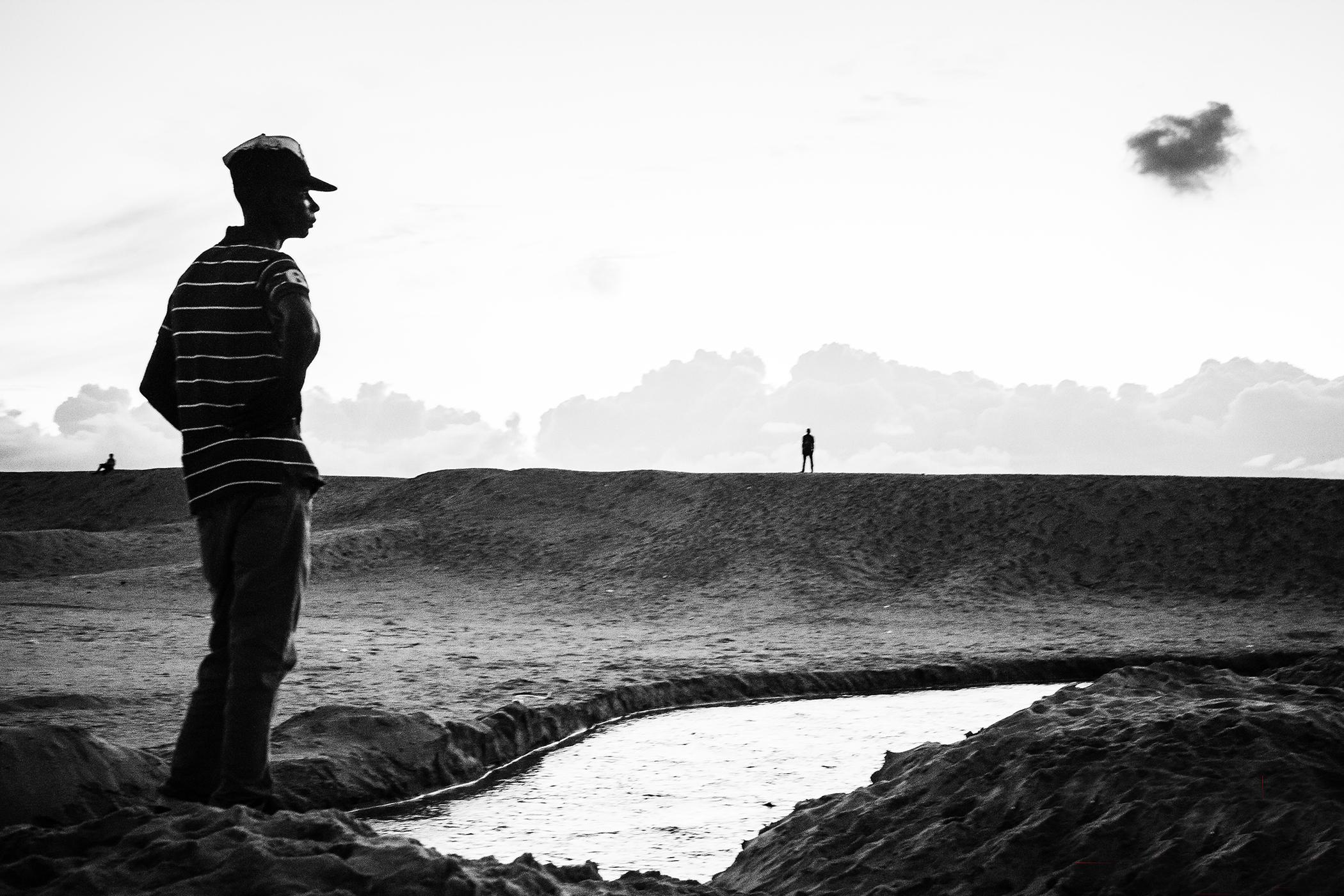 Logor, 'Bar Beach' 2013. Courtesy, African Artists' Foundation.