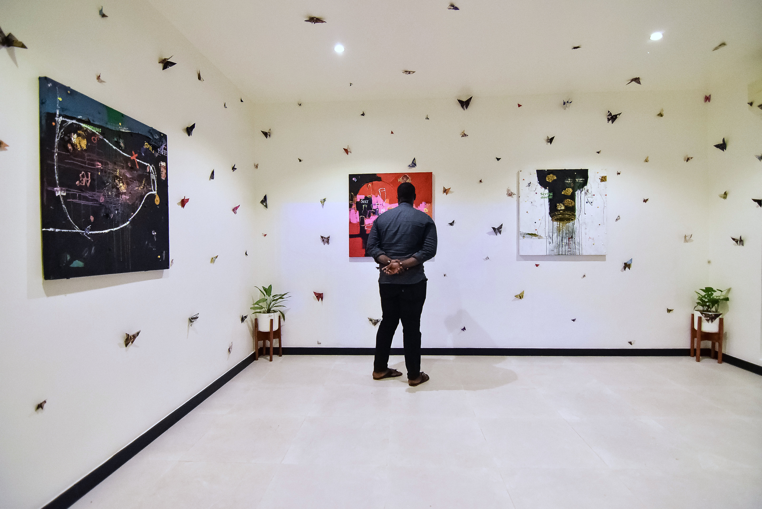 Installation View, Retro-Africa, Abuja
