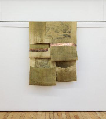 Tahir Carl Karmali, STRATA IV, 2018, Raffia, Cobalt, Plastic, Copper, Graphite and Lithium. Courtesy LKB/Gallery