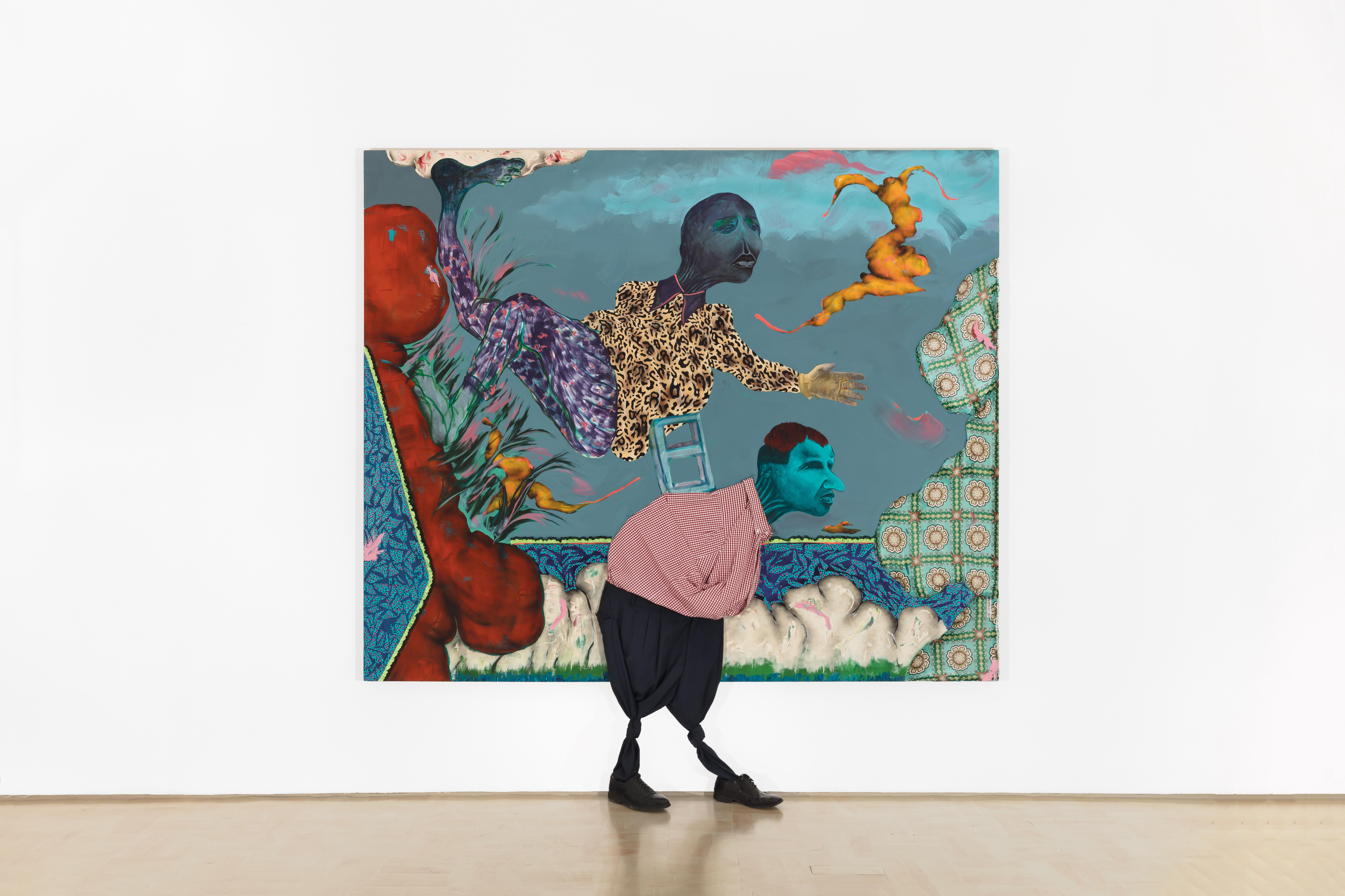 """Simphiwe Ndzube, """"Seekers of Light"""", 2018. Courtesy Stevenson Gallery."""