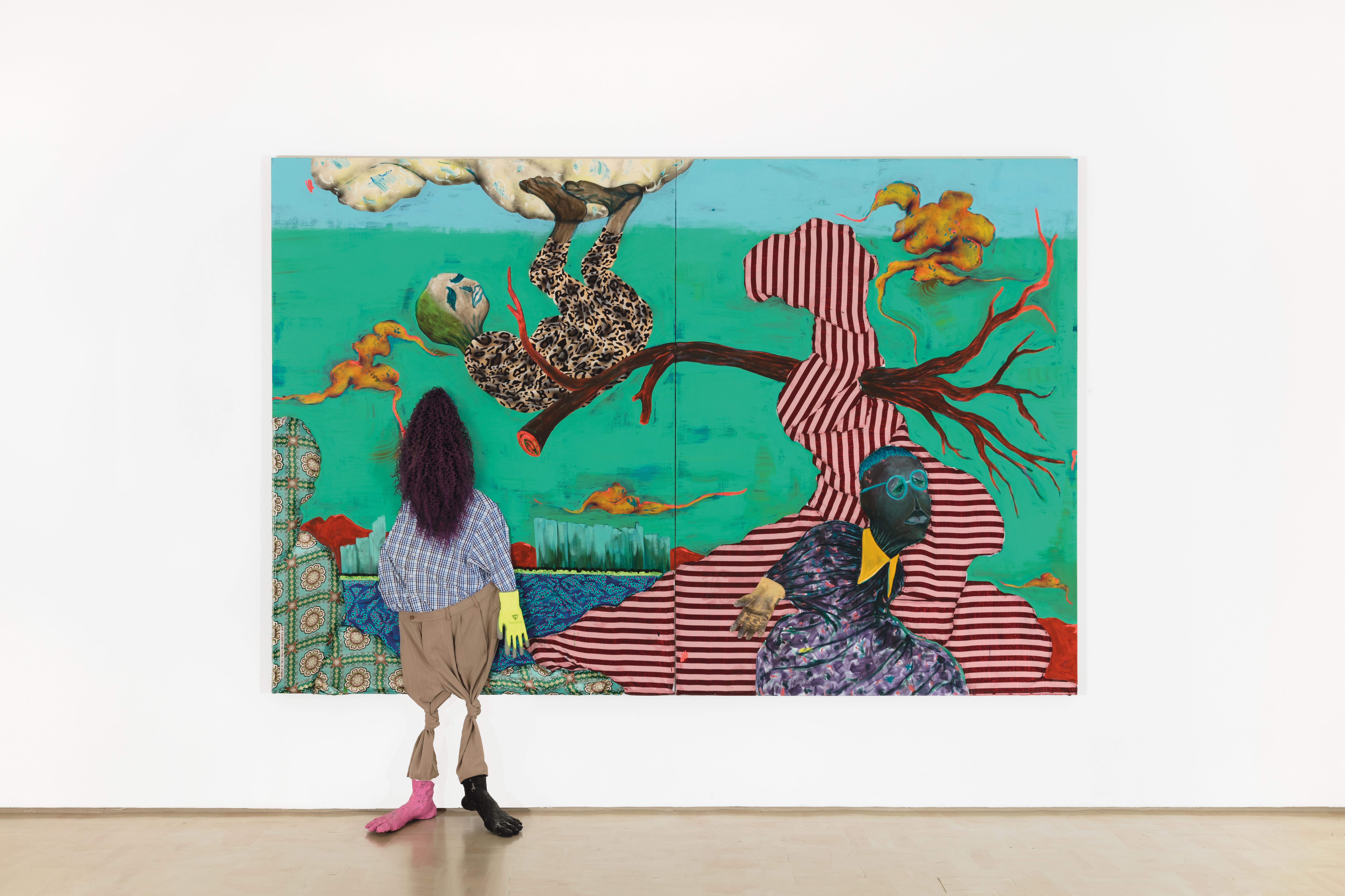 "Simphiwe Ndzube, ""Above, Below and Beyond"", 2018. Courtesy, Stevenson Gallery."