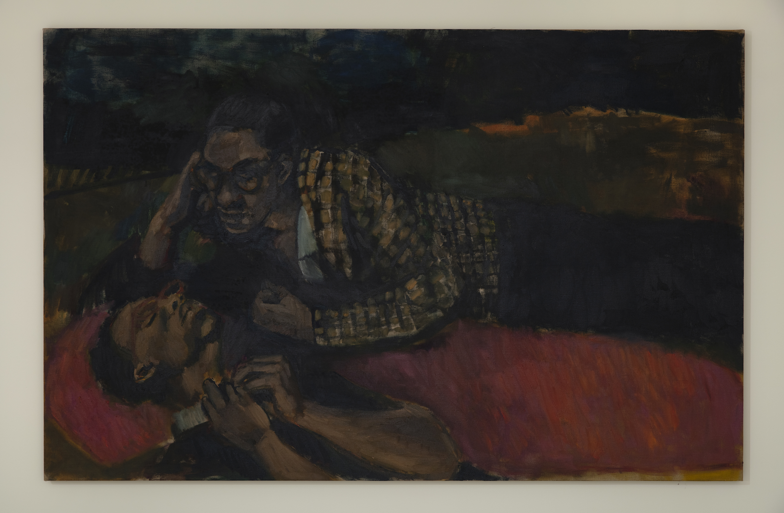 Lynette Yiadom-Boakye, Holy Provocations, 2018. © Lynette Yiadom-Boakye. Courtesy of the artist, Jack Shainman Gallery, New York and Corvi-Mora, London.