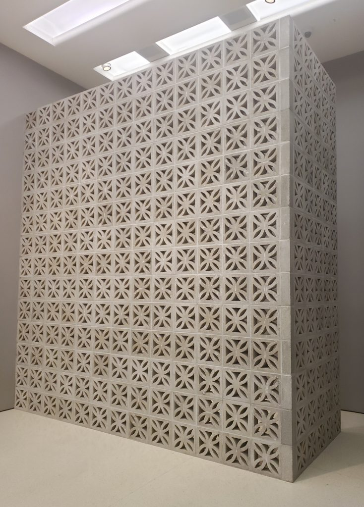 Simone Leigh, Loophole of Retreat, 2019, concrete blocks and sound, 6 min. 44 sec. Courtesy the artist and Luhring Augustine, New York. Sound work produced in collaboration with Moor Mother. Photo credit: Imani Noelle Ford