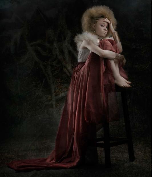 Yetunde Ayeni-Babaeko, In the Dark (2019), Photographic Print on Canvas, 24x36 inches.