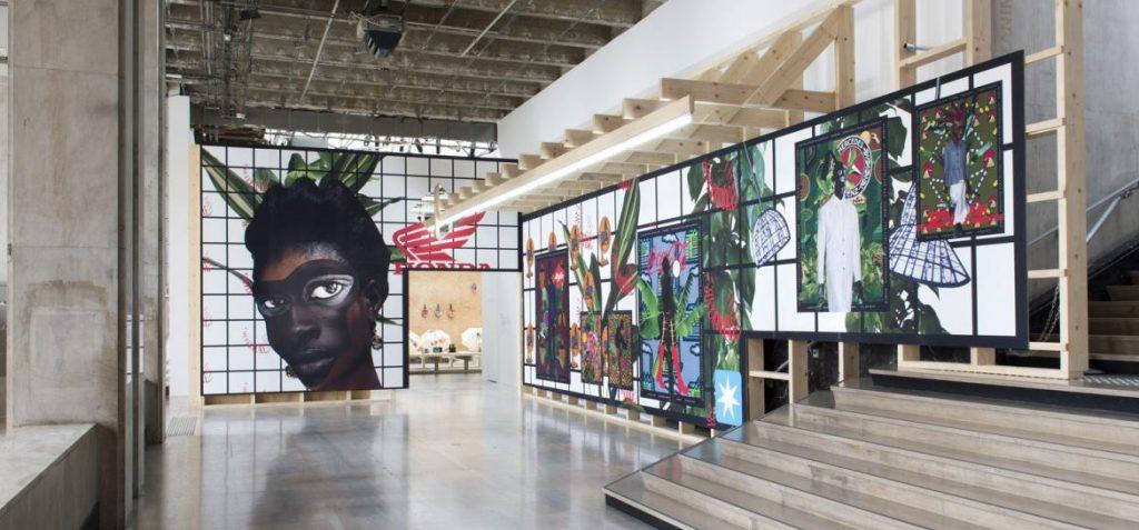 Installation View of City Prince/sses, Palais de Tokyo. Source: palaisdetokyo.com