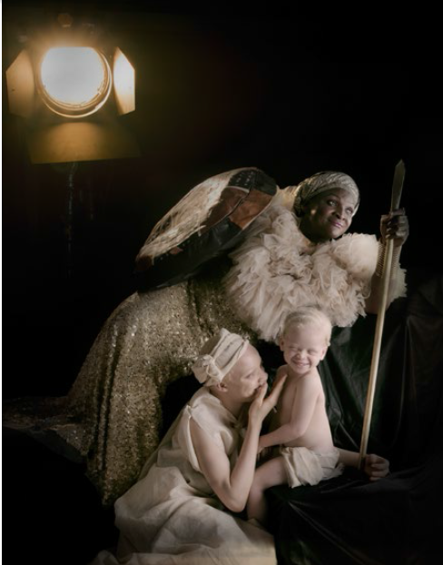 Yetunde Ayeni-Babaeko, Protector (2019), Photographic Print on Canvas, 24x36 inches.