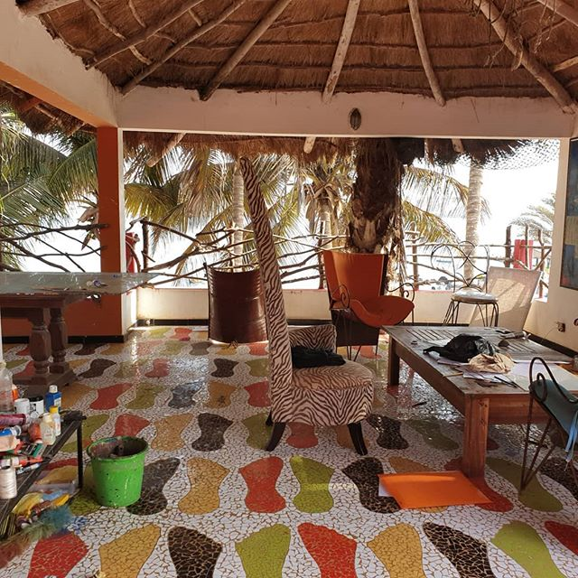 Views from the Artist's Studio on Ngor Island