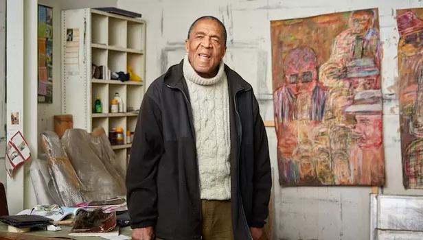 South African artist, David Koloane via iol.co.za