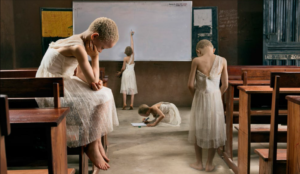 Yetunde Ayeni-Babaeko, Understanding (2019), Photographic Print on Canvas, 24x36 inches.