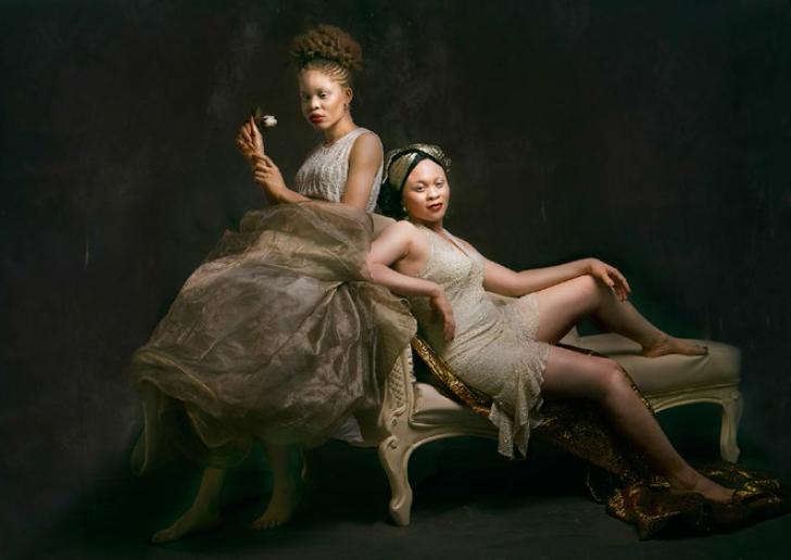 Yetunde Ayeni-Babaeko, Us (2019), Photographic Print on Canvas, 24x36 inches.