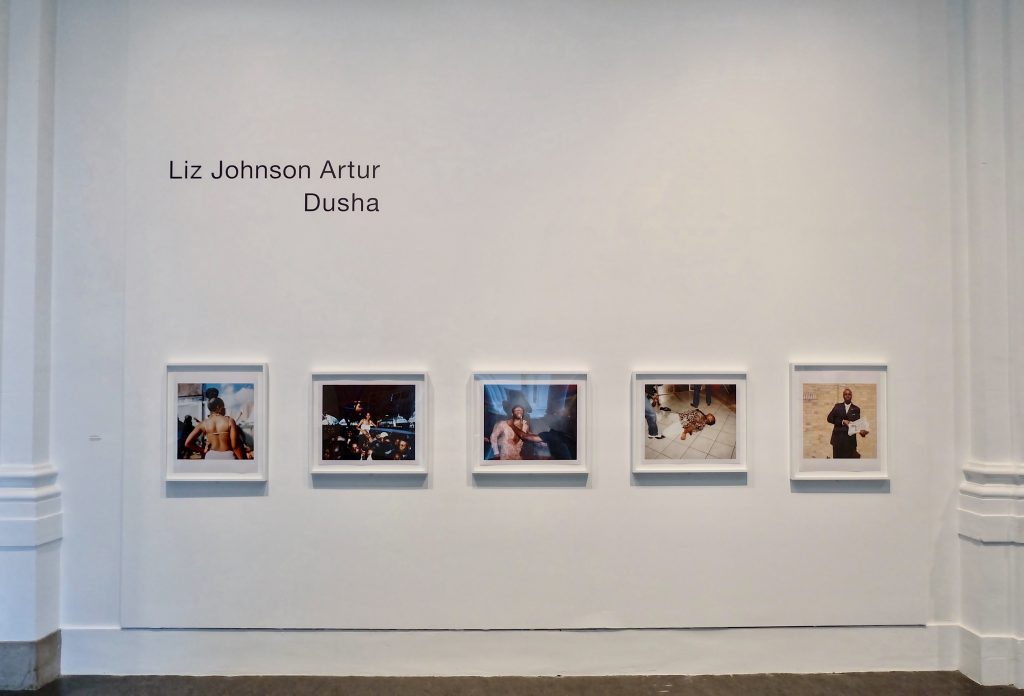 Installation view of Liz Johnson Artur: Dusha, at the Brooklyn Museum.