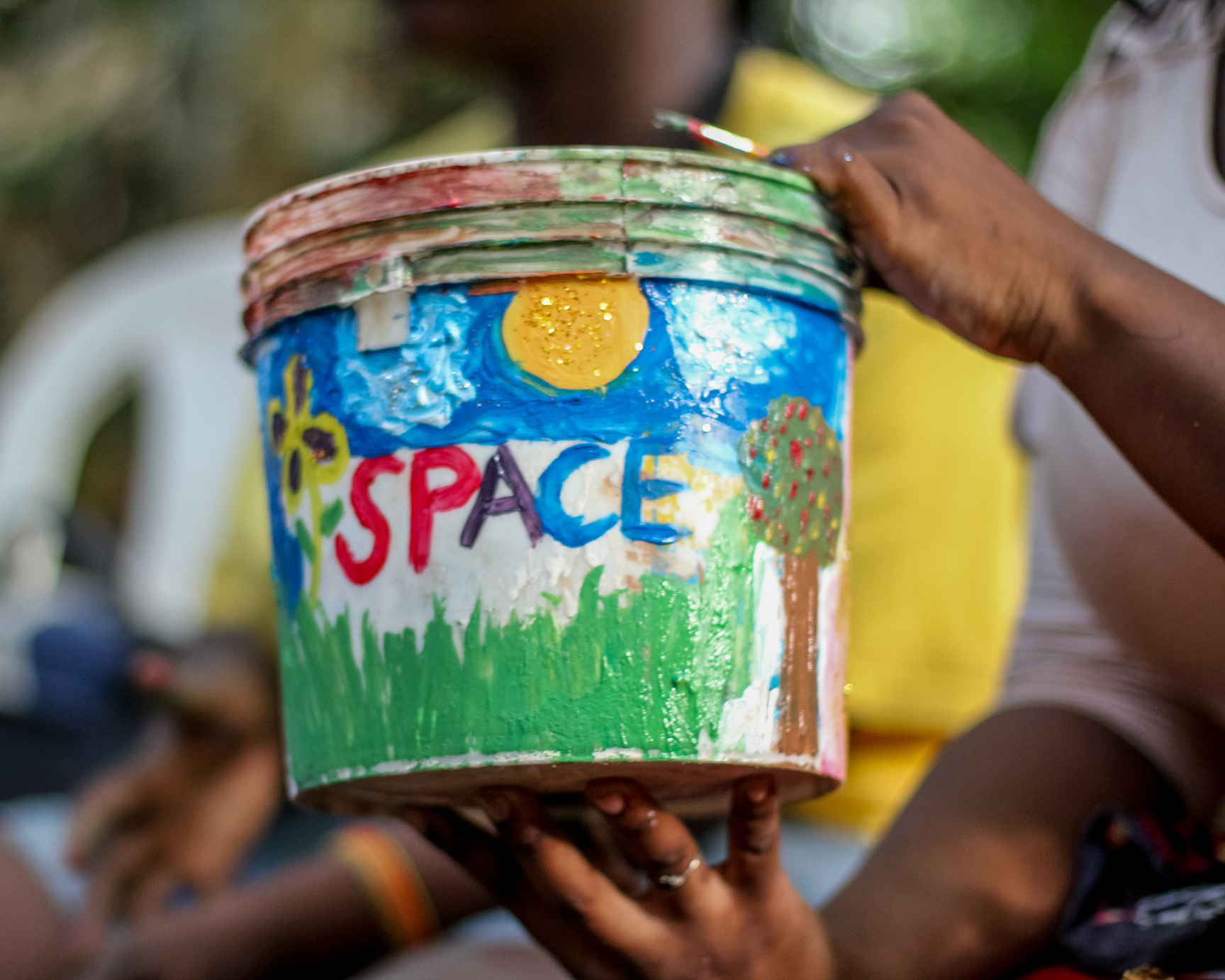 Activities at Plot and Plant Edition. Courtesy, Space Benin