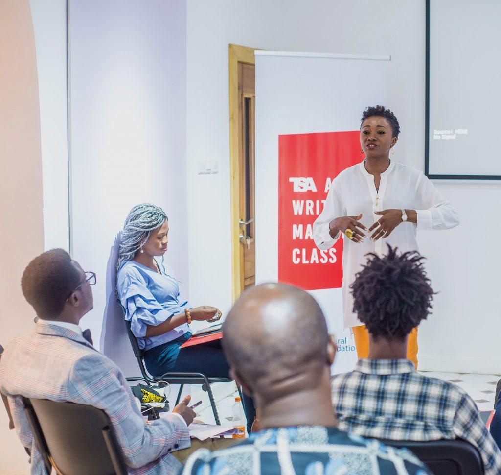 Art Writing Master Class in Lagos