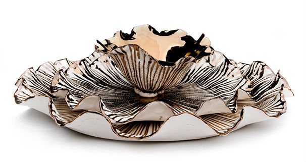 Decadent Set from the Hand-pinched collection, via www.imisoceramics.co.za