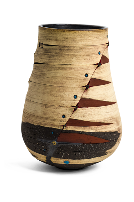 A one-off piece from the Scarified Collection, via www.imisoceramics.co.za