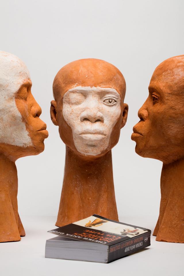 'The G3 Parliament' by Ferdinand Kokou Makouvia. Shortlisted for Henrike Grohs Art Award 2018. Image source: tl-galerie.com