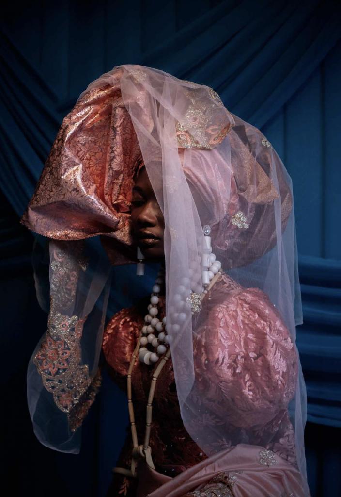 Lakin Ogunbanwo, Untitled V, 2019. Courtesy, Niki Cryan Gallery