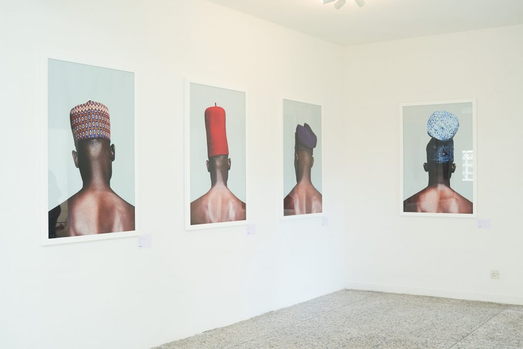 "A cross-section of works from Lakin Ogunbanwo's ""Are We Good Enough"" series. Courtesy Niki Cryan Gallery"