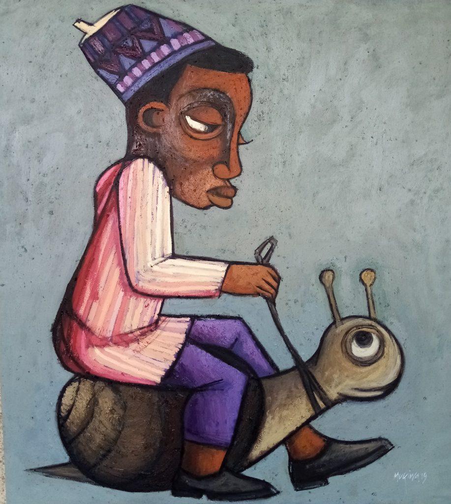 Muyiwa Akinwolere, 'Dodokodi', 2019. Courtesy: AWCA