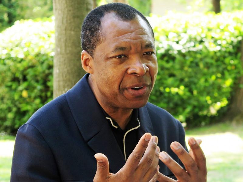 Okwui Enwezor. Photo by Chika Okeke-Agulu, via sharjahart.org