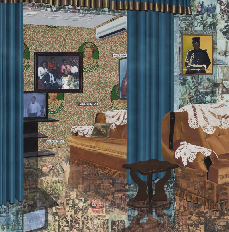 Njideka Akunyili Crosby, Home: As You See Me. 2017 © Njideka Akunyili Crosby