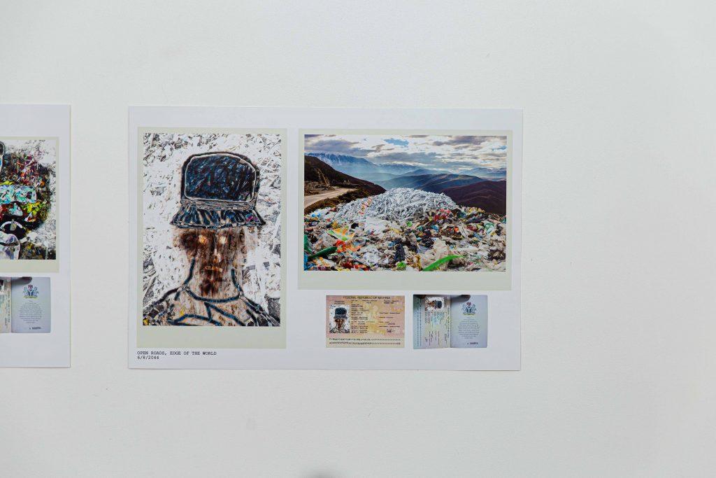 "Aàdesokan, ""Waste Identity - Passport for Plastic Waste"", LagosPhoto 2019.Photo credit: Benson Ibeabuchi"