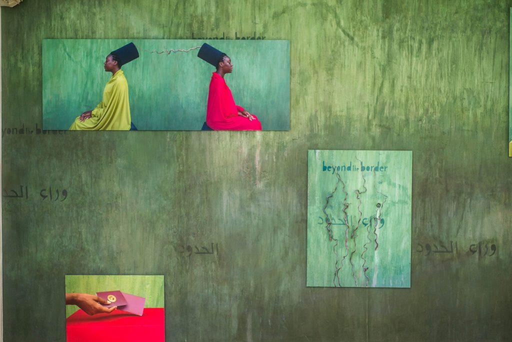 "Installation view, Maimouna Gueressi, ""Beyond Borders"", LagosPhoto 2019. Photo credit: The Sole Adventurer/Olupitan Olusanya"