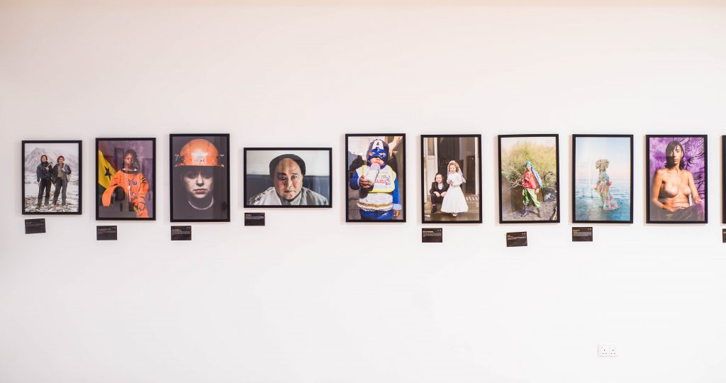 "Installation view, ""Portraits of Humanity"", LagosPhoto 2019. Photo credit: The Sole Adventurer/Olupitan Olusanya"