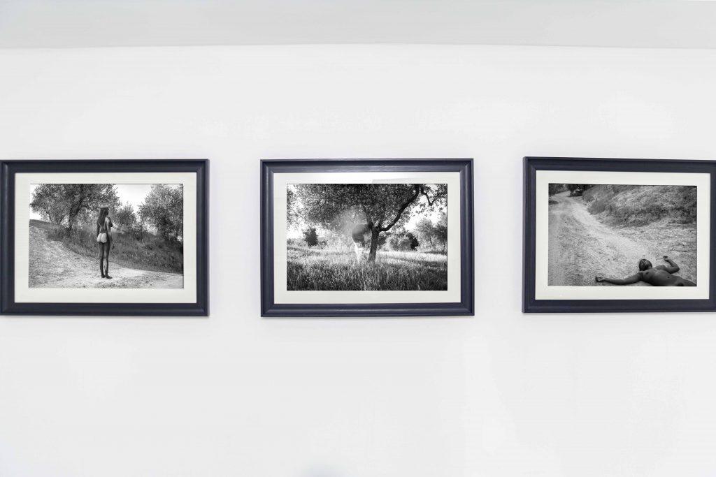 "Installation view, Jenevieve Aken, ""Sanctuary"", LagosPhoto 2019.Photo credit: Benson Ibeabuchi"