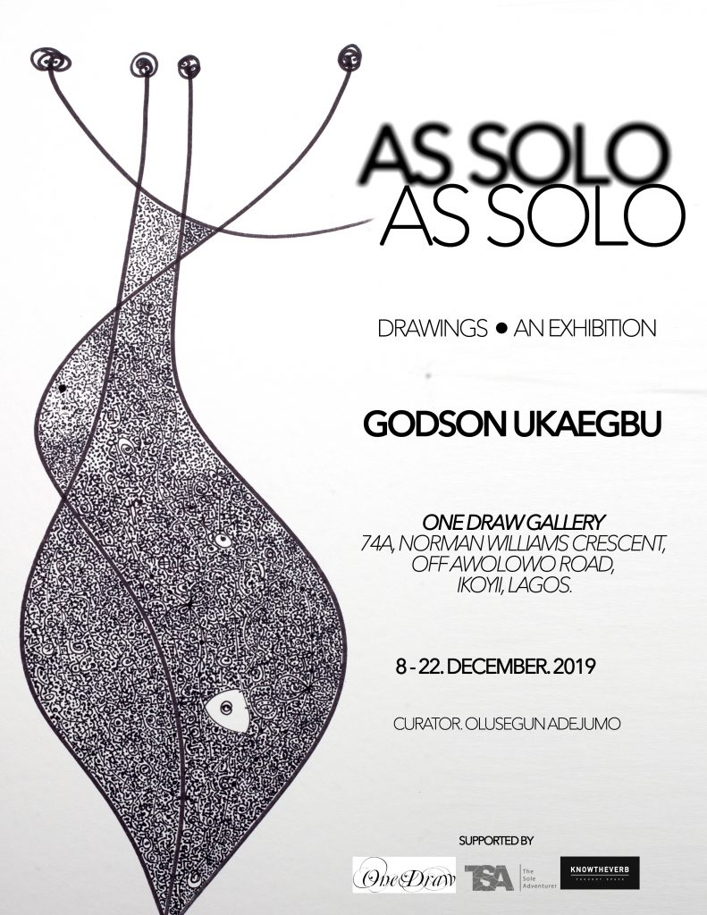 Godson Ukaegbu As Solo As Solo at One Draw Gallery