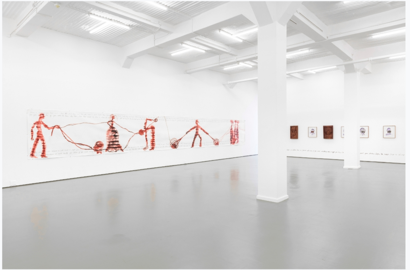 "Installation View: Barthélémy Toguo, ""Bilongue"", 2020. Courtesy of Stevenson, Cape Town and Johannesburg"