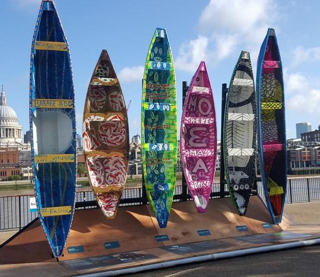 Installation by Five Cowries Initiative