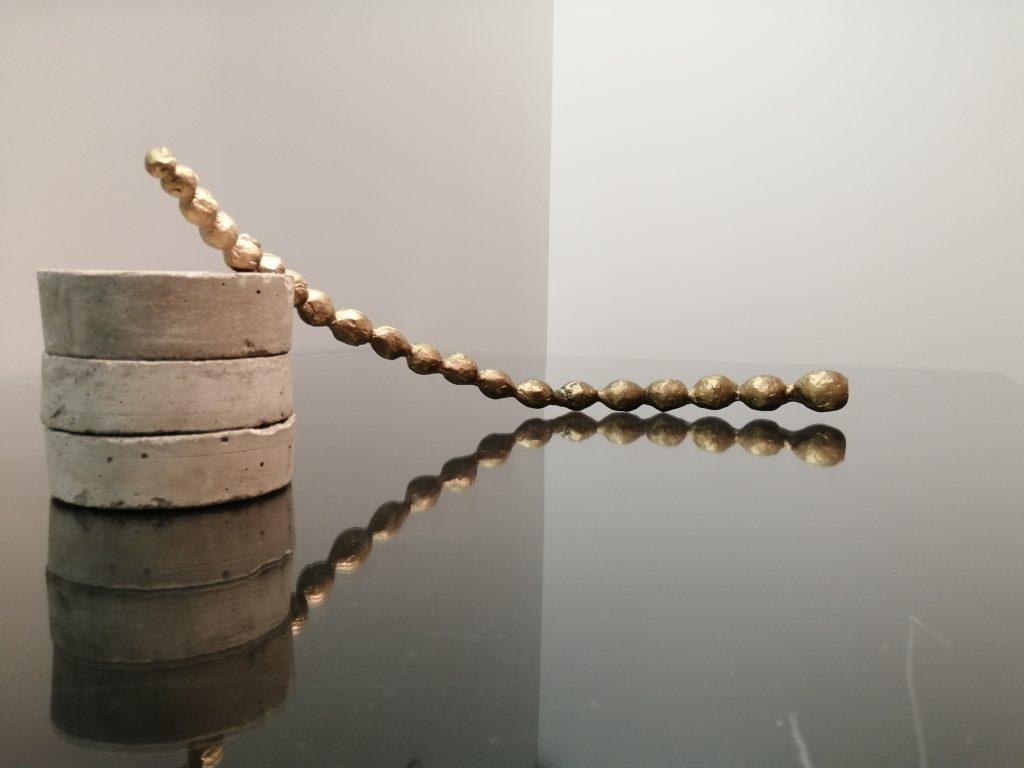 "Installation View: Temitayo Ogunbiyi, ""Capillarité"", 2019. Courtesy: 31 Project"