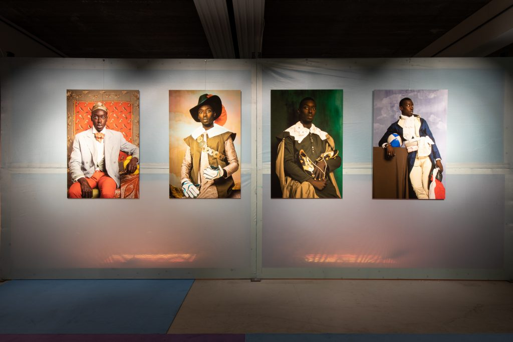 Now Look Here - The African Art of Appearance - Pop-up Exhibition View. Photo Credit: Ernie Buts